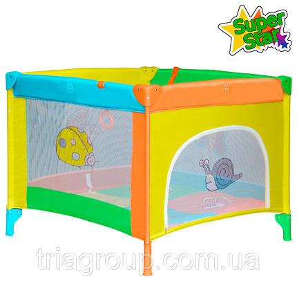 Купить Манеж Super Star Play Yellow/Orange, фото 2