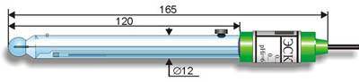 Комбинированный pH-электрод ЭСК-10301 лабораторный