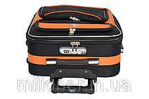Комплект чемодан + кейс Bonro Style (небольшой) черно-оранжевый, фото 3