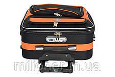Комплект чемодан + кейс Bonro Style (небольшой) коричневый, фото 3
