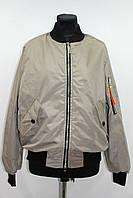 Куртка ветровка женская бомбер, мокко, р 46-52