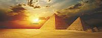 Обогреватель пленочный настенный картина VIP – Египет,  150 х 60 см, мощность 600 Вт., макс. темп. 75 С