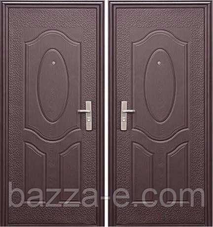 """Входная металлическая дверь класса """"эконом"""" - Бazza-Е в Одессе"""