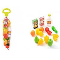 Игровой набор овощей в сетке Ecoiffier 951 GL