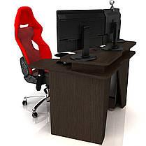 Геймерський ігровий стіл Igrok-2 Венге (Zeus ТМ), фото 2