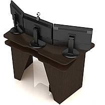 Геймерський ігровий стіл Igrok-2 Венге (Zeus ТМ), фото 3
