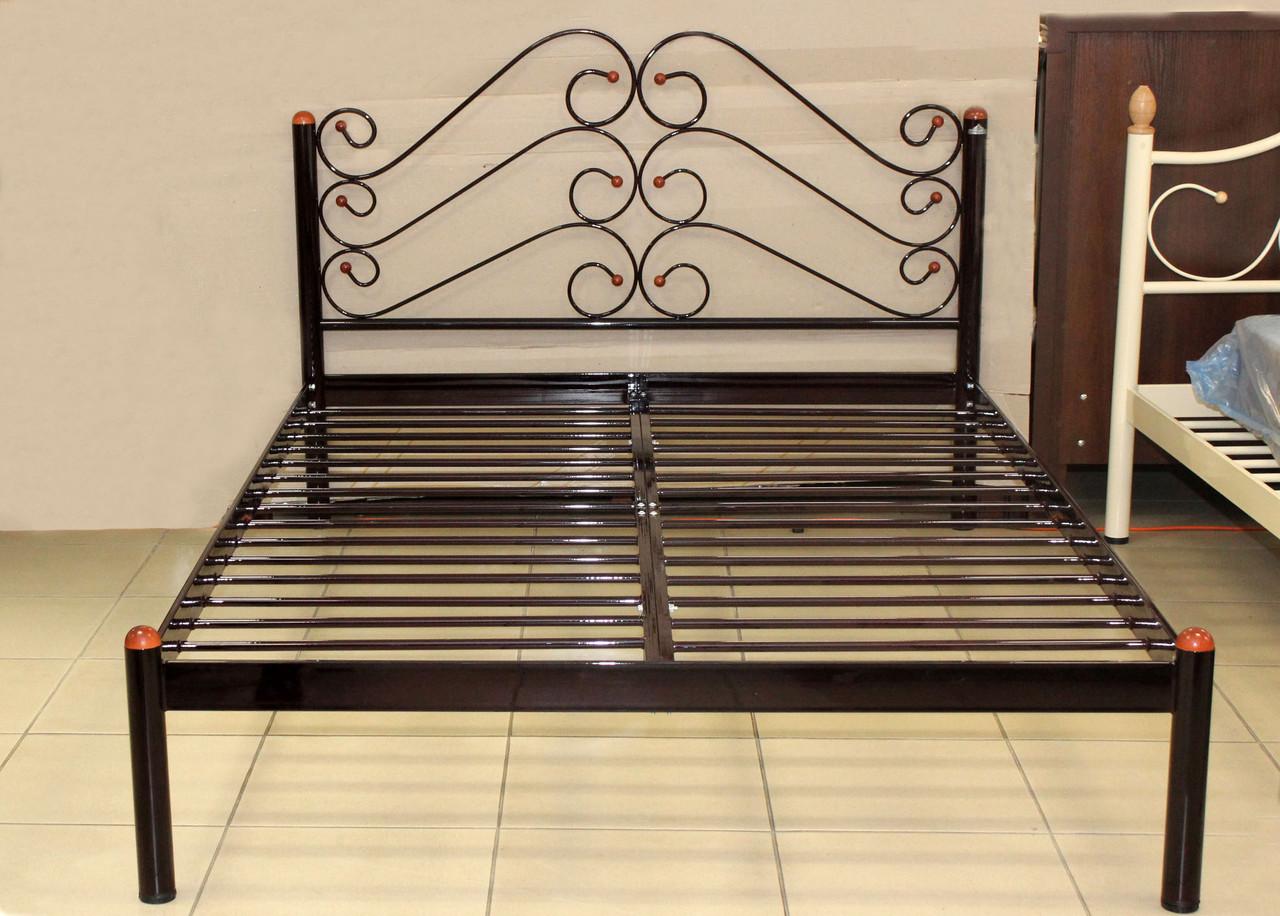 Кровать металлическая 140