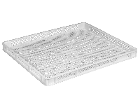 Пластиковые лотки  745 x 625 x 60 белый