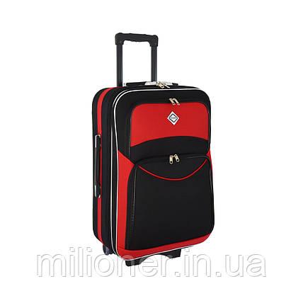 Чемодан Bonro Style (небольшой) черно-красный, фото 2