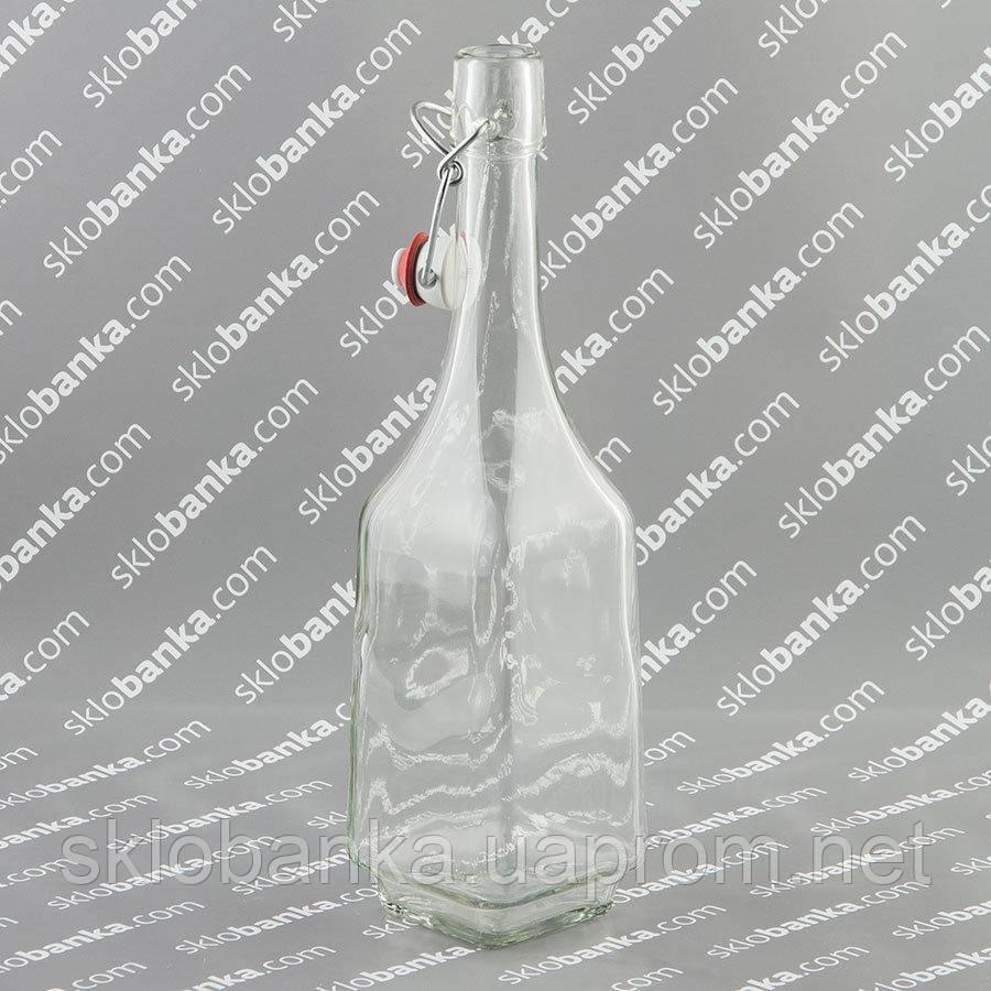 Бутылка штоф 0,7 л с бугельной крышкой