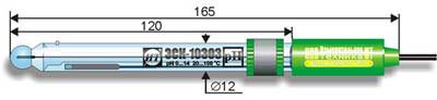Комбинированный pH-электрод ЭСК-10303 лабораторный
