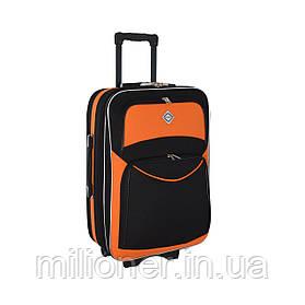 Чемодан Bonro Style (небольшой) черно-оранжевый