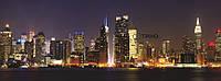 Обогреватель пленочный настенный картина VIP – Нью-Йорк, 150 х 60 см, мощность 600 Вт., макс. темп. 75 С