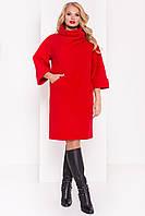 """Красное пальто-халат """"Эльгранде Donna"""""""