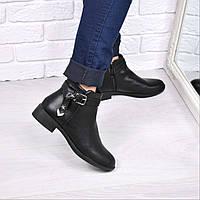 Ботинки женские Stars черные 3721, ботинки женские