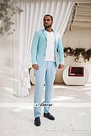 Мужской пиджак с карманами