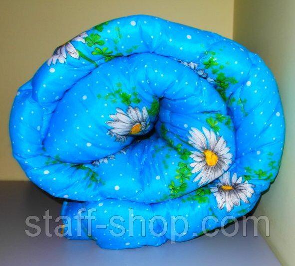 Одеяло полуторное ( Двойной силикон) ткань полиэстер