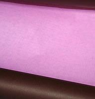 Бумага крафт упаковочная двусторонняя цвет розовый\шоколадный, 1 м