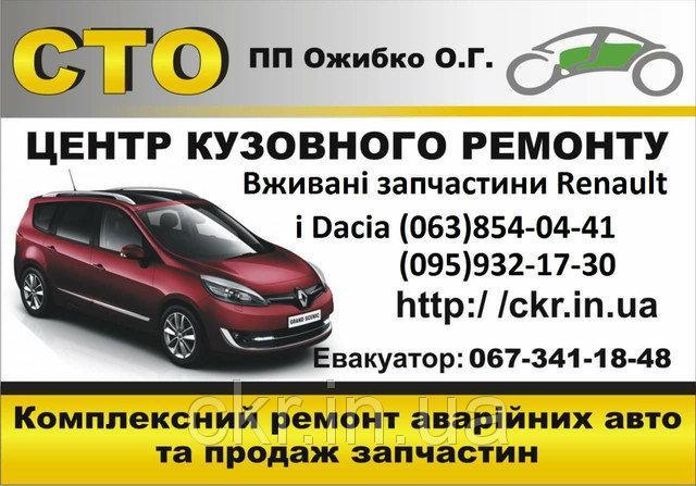 Авторозборка Renault Dacia Logan Sandero Duster Lodgy Dokker Trafic Grand Modus Megane II 2 III 3 Sc