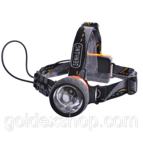 Налобный фонарь Police 6651-1LM+3Led