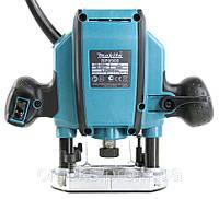 Фрезер Makita RP0900, 900 Вт, 27000 об./мин., ход 0-35 мм, цанговый патрон 8 мм, 2,7 кг KTG ALC