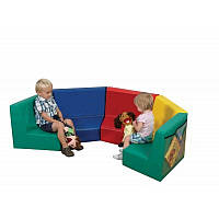Детский мягкий модульный диван