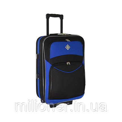 Чемодан Bonro Style (средний) черно-синий, фото 2