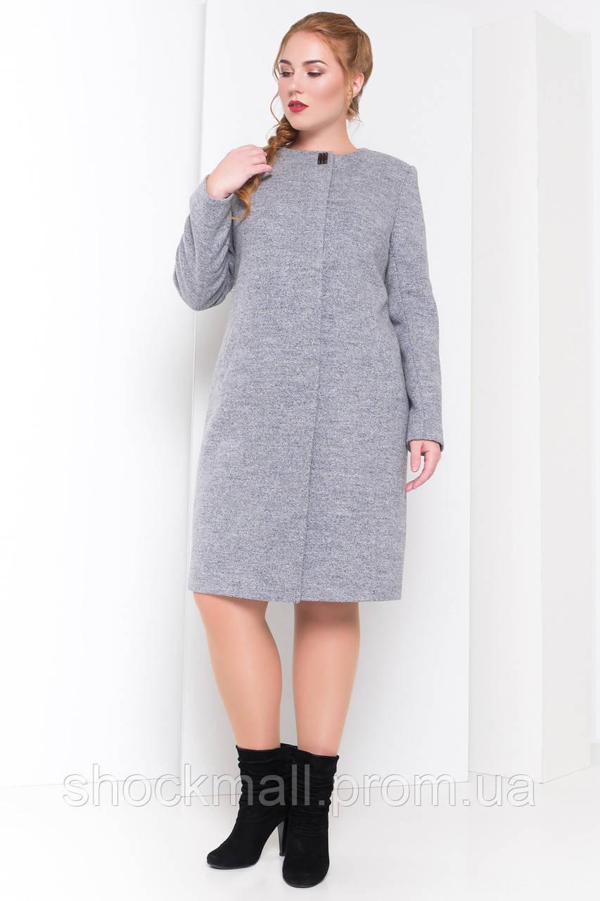 Пальто демисещонное шерстяное женское