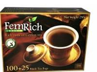 Чай  черный Фемрич в пакетах 125 х 2 гр