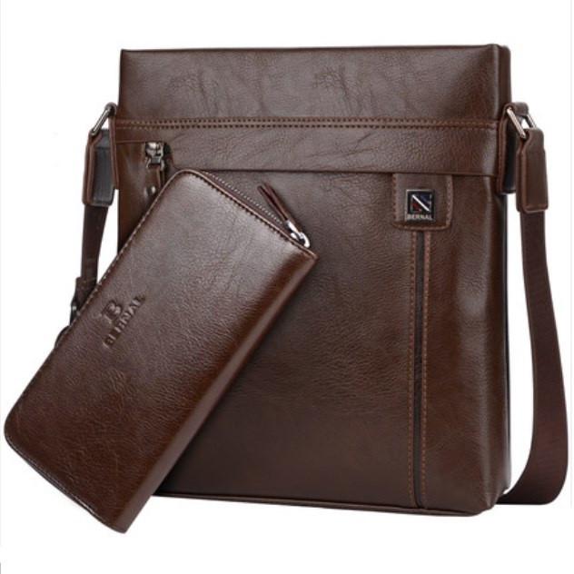 Чоловіча шкіряна сумка. Модель 63263