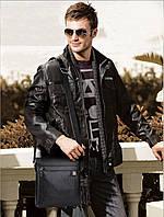 Чоловіча шкіряна сумка. Модель 63263, фото 3