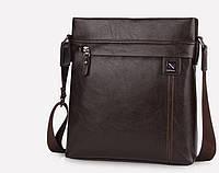 Чоловіча шкіряна сумка. Модель 63263, фото 7