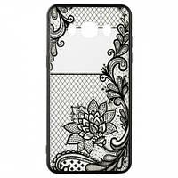Накладка для Huawei Y6 Pro Rock Tatoo Art Case Magic Flowers