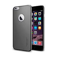 Накладка для iPhone 6 Plus / 6s Plus пластик Spigen Case Thin Fit A Series Gun Metal (SGP10890)