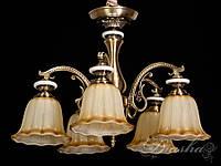 Люстра в античном стиле на 5 ламп 8419/5
