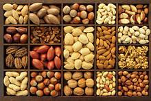 Орехи, ореховая мука