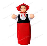 """Кукла - перчатка """" КРАСНАЯ  ШАПОЧКА """""""