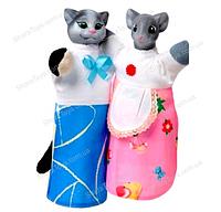 "Набор кукол - перчаток "" Кот и Мышка"""