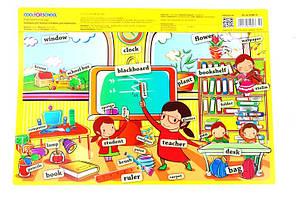 Подложка настольная детская А3 Economix Е/CF61480 (ассорти), фото 2