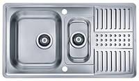 Мойка кухонная Alveus Pixel 40 SAT (1085968) полированная