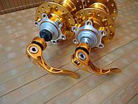 Втулки Novatec D041SB, D142SBT (комплект)