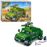 Конструктор BANBAO 8842  военная машина, 203дет, фигурки 2шт