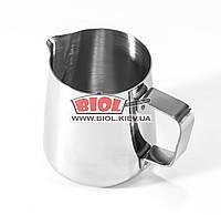 Питчер (джаг, молочник) 350мл для взбивания молока из нержавеющей стали