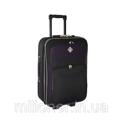 Чемодан Bonro Style (большой) черно-т. фиолетовый, фото 2