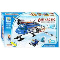 Конструктор TS8107A  Арктика, самолет, снегоход, фигурки, 511дет