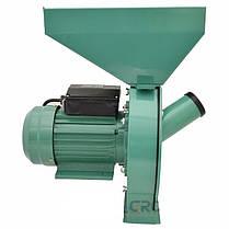 Кормоизмельчитель для зерна и початков кукурузы (зернодробилка) 2.8 кВт, фото 3