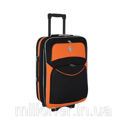 Чемодан Bonro Style (большой) черно-оранжевый, фото 2