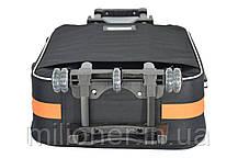Чемодан Bonro Style (большой) черно-оранжевый, фото 3