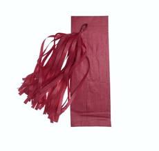 Кисть тассел бургундия 35 см длина (собрана)