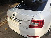 Спойлер на багажник Skoda Octavia A7 2013-2015 ABS
